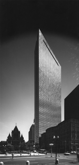 Hancock Building, Boston, MA. Henry Cobb of Pei Cobb Freed & Partners, Architects, 1976. Robert Damora, Photographer, 1977.